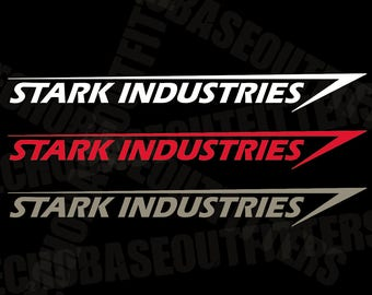 Stark industries etsy stark industries large vinyl decal colourmoves