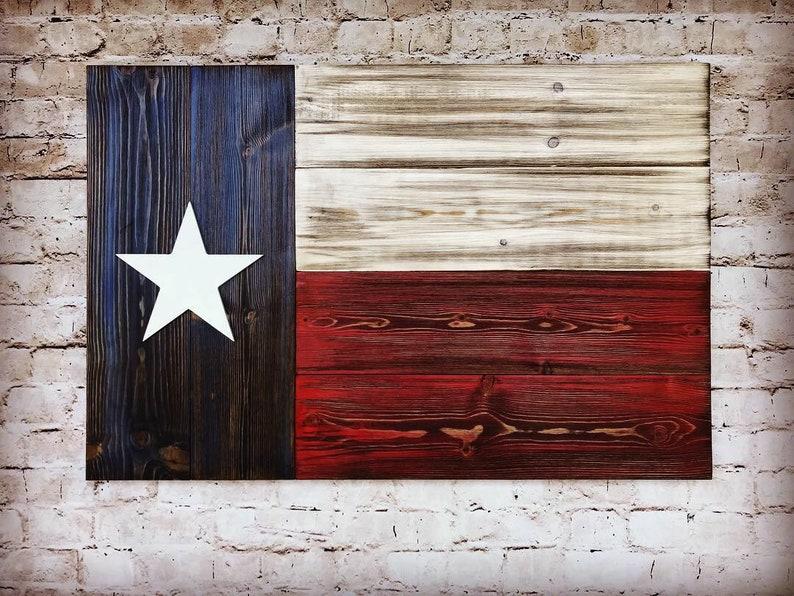 Texas Wood Flag Wooden Flag Wall Decor Texas Flag On Wood Wall Art Texas Flag Decor Rustic Wood Texas Flag Lone Star State Flag Texas