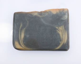 Black Amber and Musk Soap | Handmade Soap | Raw Shea Butter | Artisan Soap | Mens Soap | Homemade Soap | Gift For Men | Natural Soap |