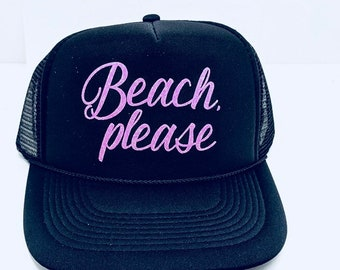 Beach please hat  76e39b786d7d