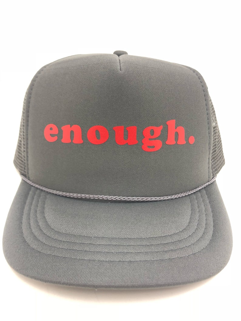 df8c1cfb6fa96 Enough. KID S trucker hat kids trucker mesh hat trendy