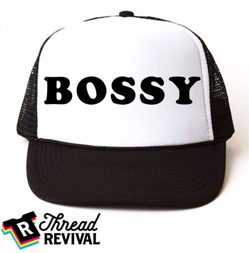e03952777976b BOSSY women s trucker hatHippie Mom mesh hat trendy