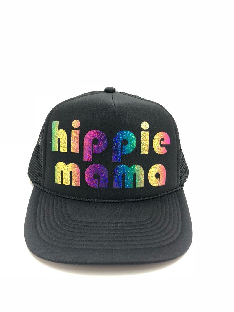 69bf57b00ef4c Mama Trucker Hat Hat Mom Hat personalized Hat custom Hat