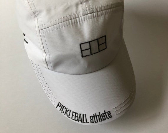 Pickleball Athlete Court Hat in White