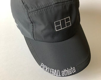 Pickleball Athlete Court Hat in Charcoal Grey
