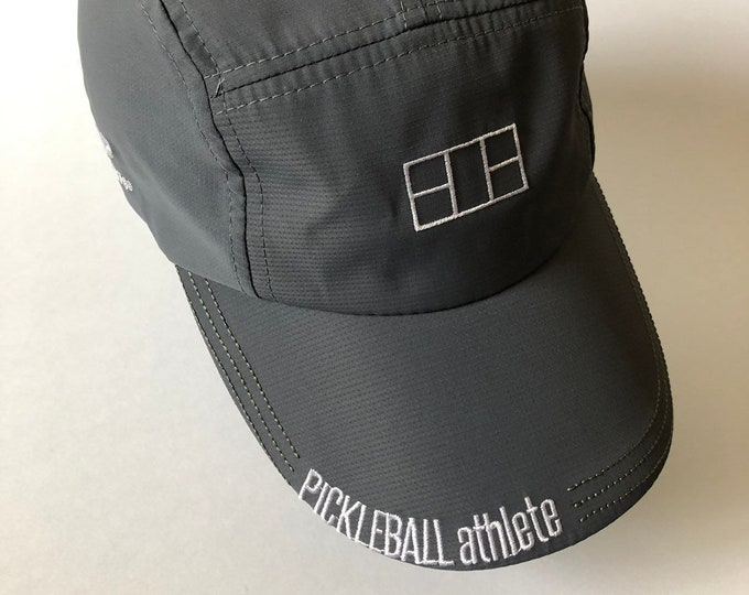 Pickleball Athlete Classic Hat in Charcoal Grey