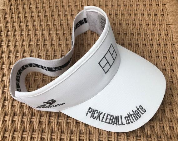 Pickleball Athlete Court Visor in white