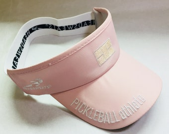 Pickleball Athlete Court Visor in soft pink