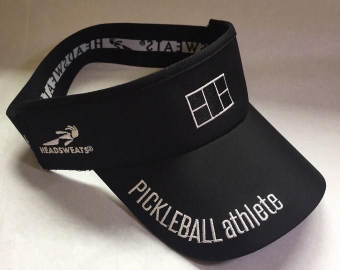 Pickleball Athlete Classic Visor in black