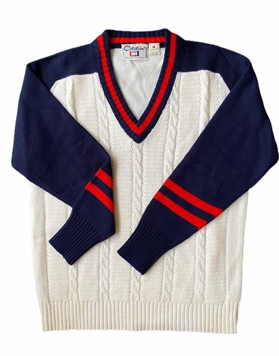 Catalina USA Men's Arthur Ashe Collection Pullover