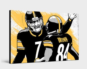 b6f3ce761de Ben Roethlisberger   Antonio Brown