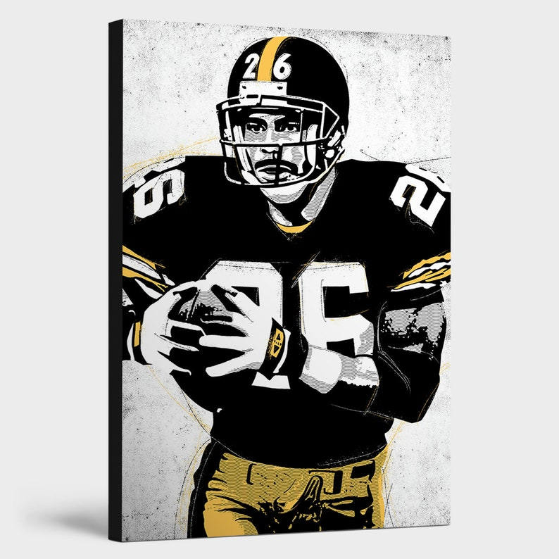 eef977569 Rod Woodson Pittsburgh Steelers Decor  Canvas Print Wall