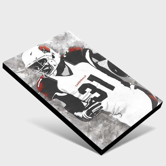 Arizona Cardinals Decor Arizona Cardinals Wall Art Arizona Cardinals Man Cave Arizona Cardinals Art David Johnson Canvas Print