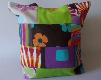 Fabric bag patchwork