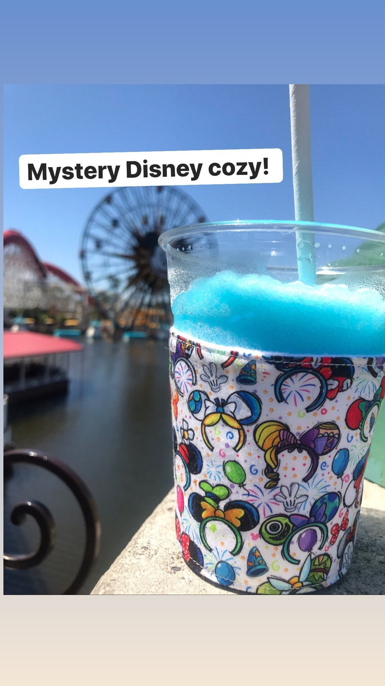 Mystery Disney coffee cozy image 0