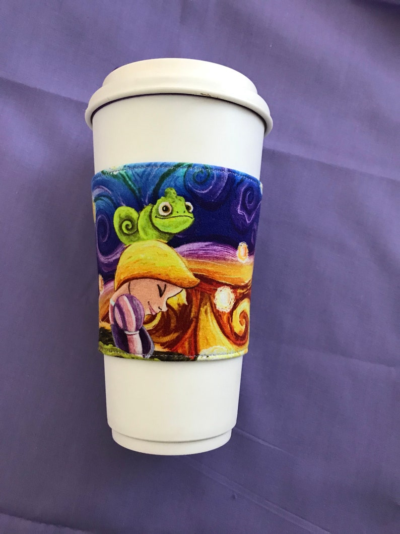 Tangled inspired coffee cozy image 0