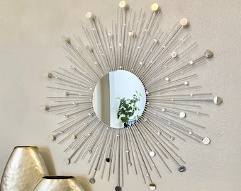 Gold Sunburst Mirror Etsy