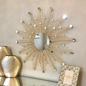 Sun Mirror Etsy