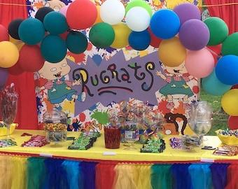 Rugrats Birthday Etsy