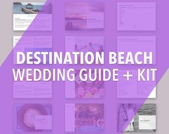 Destination Beach Wedding Guide | Planner | Planning Kit