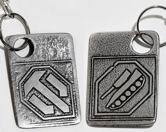 Game World of Tanks Metal Keychain Alloy Key Chain Keyring Present Gift