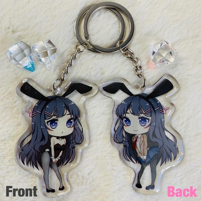 Keychain Strap Keyring Rascal Does Not Dream of Bunny Girl Senpai