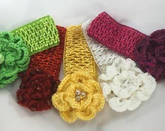 Baby Handmade Crochet Headband