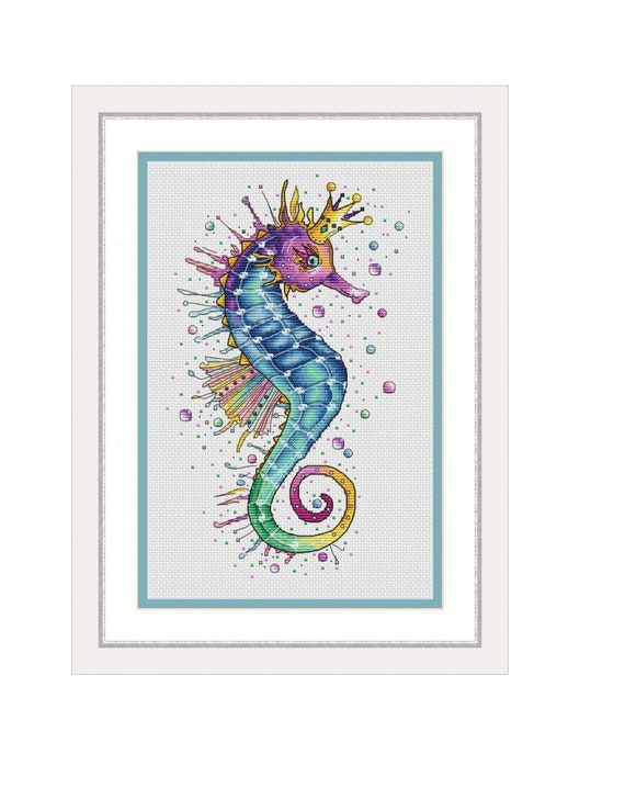 The Seahorse Cross Stitch Pattern PDF