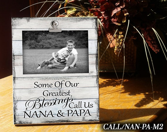 Callnan Pa Clip Frame Photo Frame Gift For Nanapapa Etsy