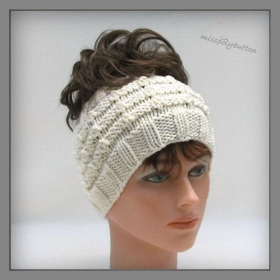 Knit Headband For Women Winter Headband Knitted Accessories Etsy