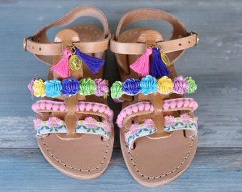 "Kids sandals ""Butterfly"""