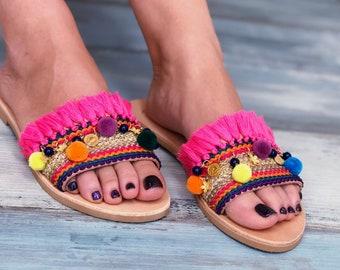 "Boho Sandals ""Magellanica"""