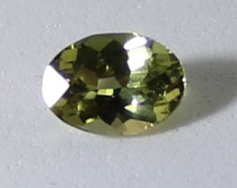 Canary Yellow Tanzanite or Zoisite 1.50ct