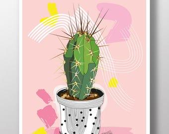 illustration - cactus