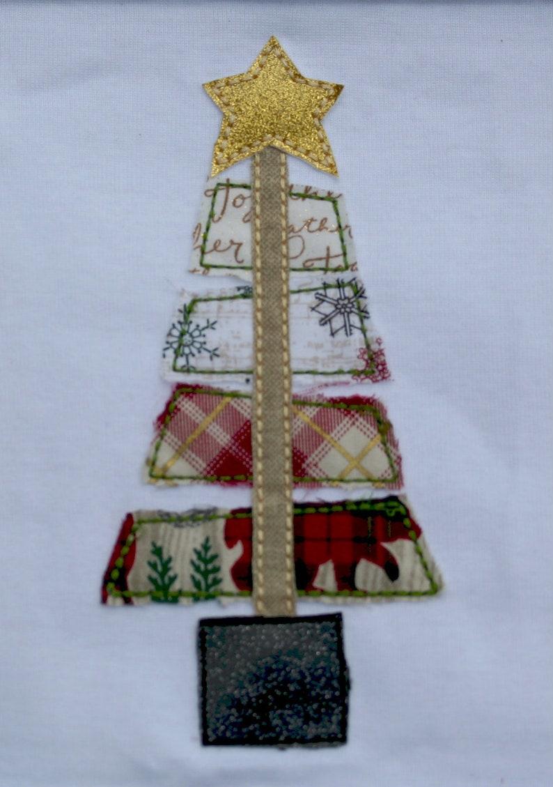 Ragged Christmas Tree Shirt Tree Farm Shirt 1ST Christmas Christmas Tree Vintage Christmas Tree Tree Christmas Baby 1st Holiday