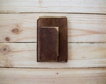 Leather Field Notes/ Moleskine Cahier cover slip