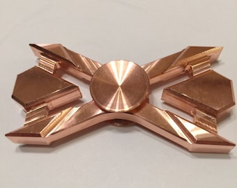 Custom Copper Hand Spinner/Fidget Toy