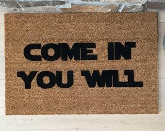 Gift Ideas - Doormat - Funny Door Mats - Coir Door Mats - Star Wars Gift - Outdoor Doors - Unique Gift