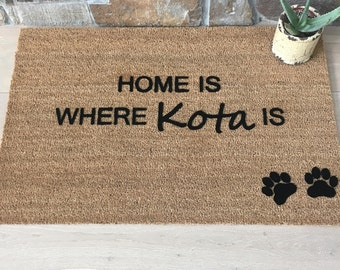 Pet Lover Gifts - Fur Baby - Family Pet - Pet Lover -  Dog Decor - Dog Decorations - Personalized Door Mat - Welcome Mat - Unique Gift Ideas