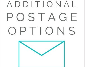 Additional Postage Needed