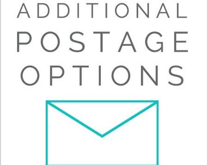 Additional Postage Needed