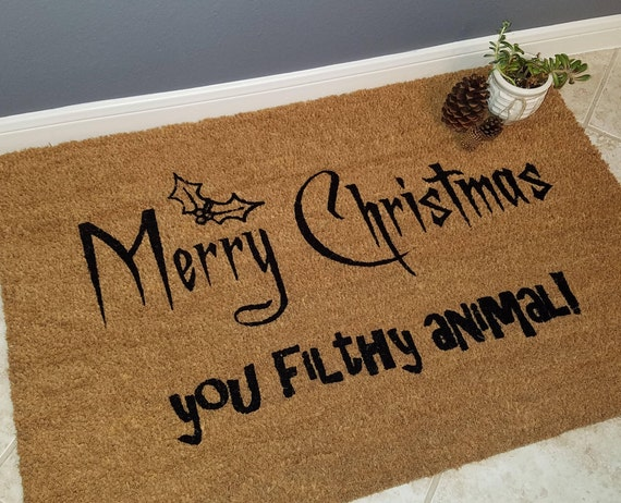 Christmas Gift / Funny Doormats / Welcome Mat / Home Alone / Gift Ideas / Holiday Decor / Christmas Mat / Christmas Gifts / Unique Gifts