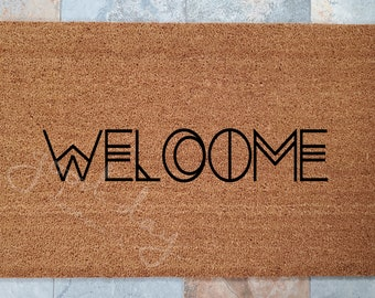 Bohemian Decor, Bohemian Decorations, Door Mat, Gifts for Girlfriend, Gifts for Mom, Welcome Mat, Entry Mat, Gifts for Sister,