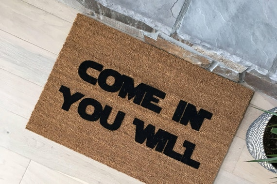 Gift Ideas - Doormat - Funny Door Mats - Coir Door Mats - Star Wars Gift - Outdoor Doors - Unique Gift