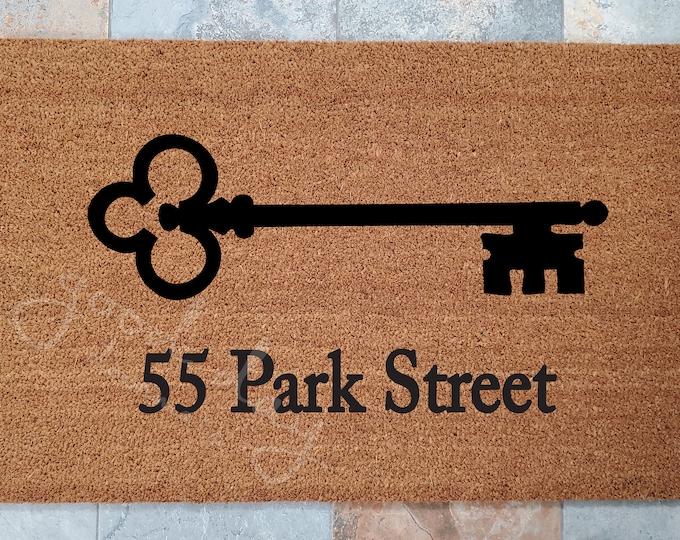 Custom Address Door Mat