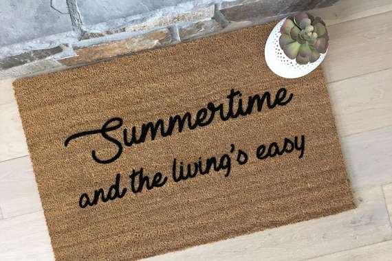 Door mat, Summer Home Decor, Unique Door Mats, Cute Home Decor, Gifts for Him, Gifts for Brother, 90's Lover Gifts, Sublime