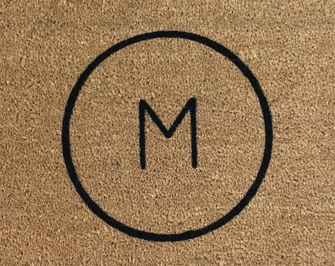 Personalized Door Mat, Door Mat, Welcome Mat, Custom Door Mat, Family Name Gift, Wedding Gift