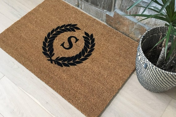 Door mat for Mothers Day Gifts, Gifts for Mothers, Gifts for Wife, Monogrammed Doormat, Personalized Gifts, Unique Gift Ideas, Custom