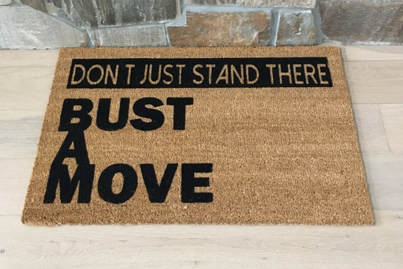 Gifts for Boyfriend, Door Mat, Door Mats, Gifts for Husband, 1980s Gifts, Doormat, Cool Door Mats, Young MC