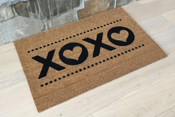 Love Gifts, Love Doormat, Love Sign, Love Is Love, Love Gifts for Him, XOXO, XOXO Sign, XOXO Prints, Door Mats
